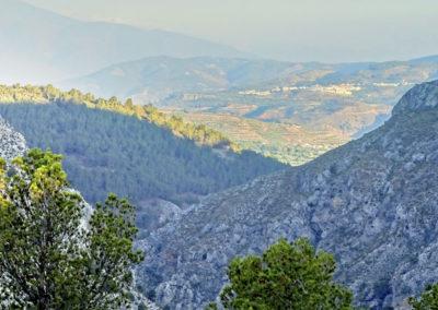 Vista de Cónchar desde las Rutas.